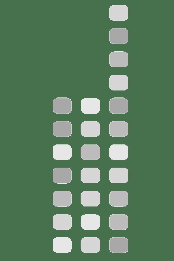 Motorola PMBN4125 Volume ID knop Blauw 5 stuks
